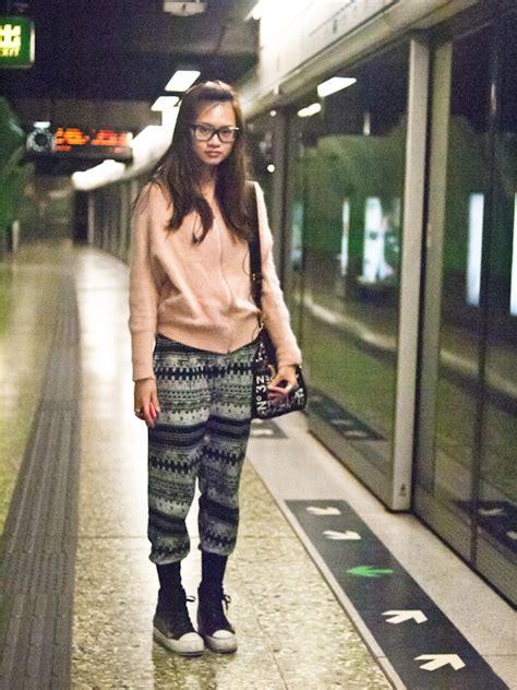 subway hong kong street style fashion