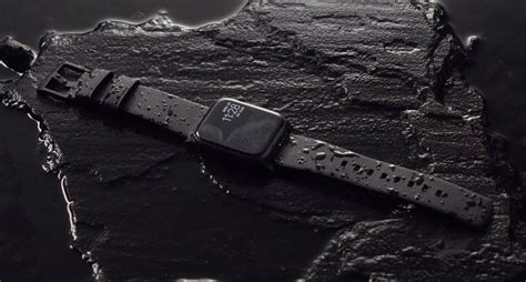 nomad launches hydrophobic leather active straps