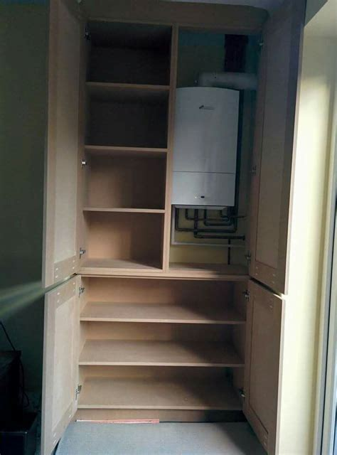 Cleaning Kitchen Cupboard Doors by Alcove Boiler Cabinet Garage Cupboard Storage Airing