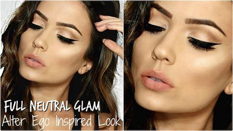 Full Glam Makeup Tutorial 2016  Alter Ego Inspired Look