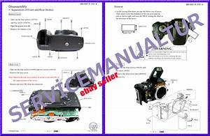 Nikon Digital Camera D3 D40 D90 D700 Service Repair Manual