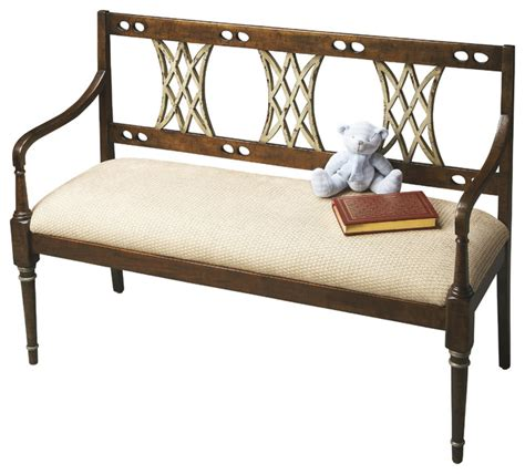 Accent Storage Bench by Bench Traditional Accent Storage Benches By Butler