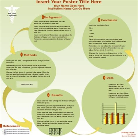 Powerpoint Poster Template Template For A Poster Presentation Affordable