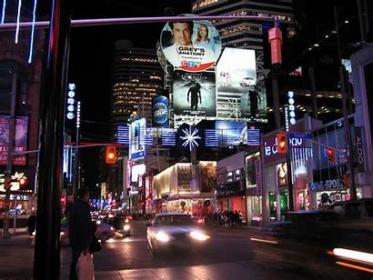 Yonge Toronto Gould Street Advertising Selection Canada