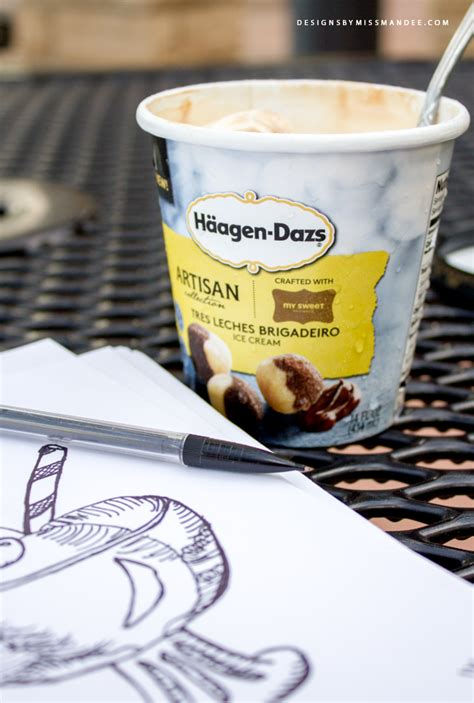 vintage ice cream clip art  nestle haeagen dazs