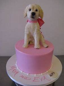 so do you think eva got both this cake and this puppy for With dog birthday cake houston