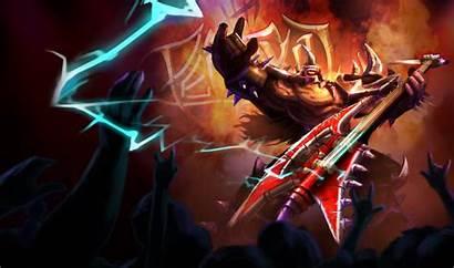 Mordekaiser Pentakill Skin Splash Legends League Riot