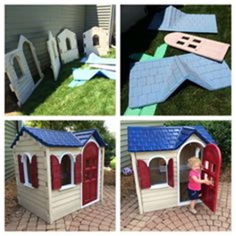 Little Tikes Picnic On The Patio Playhouse by 1000 Images About Playhouse Makeover On Pinterest
