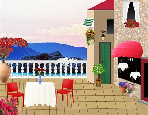 restaurant terrace  image  pixabay