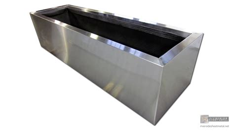 Planters, Window & Flower Boxes  Copper, Stainless Steel