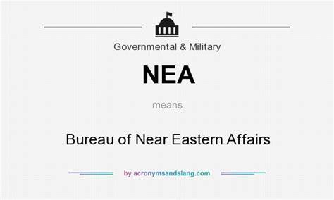 bureau definition nea bureau of near eastern affairs in government