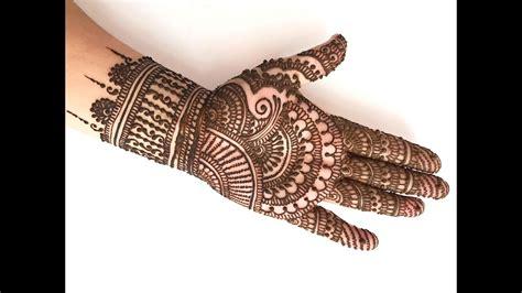 Bridal Mehndi Design – FashionDesignerArt-1522