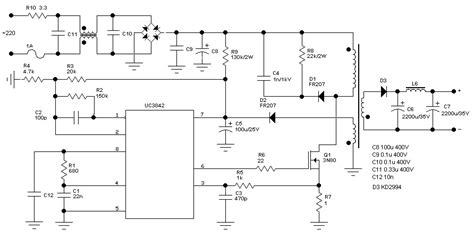 switching power supply power supply circuits