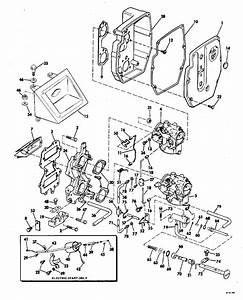 Johnson Intake Manifold Parts For 1981 60hp J60elcia