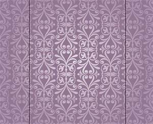 Light Purple Floral Pattern