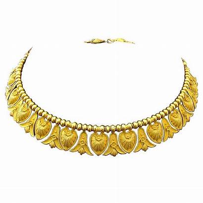 Italian Gold Necklace Antique Etruscan Jewelry 1stdibs