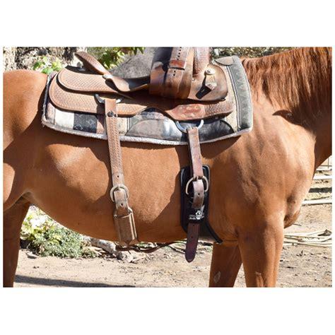 saddle western cinch total shoulder relief felt neoprene riding