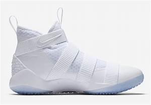 Nike LeBron Soldier 11 White Ice 897644-103 - Sneaker Bar ...