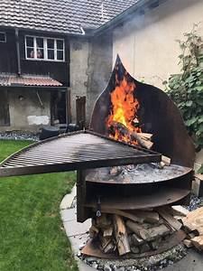 feuerstelle marke eigenbau grillfieberch With feuerstelle garten mit zimmerpflanzen online schweiz