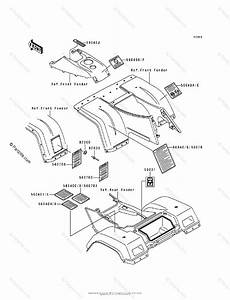 Kawasaki Atv 1998 Oem Parts Diagram For Labels