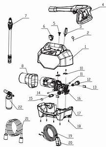 Greenworks 2000 Psi Electric Pressure Washer Parts
