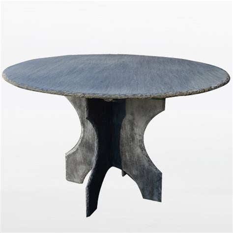 grey slate dining or side table omero home