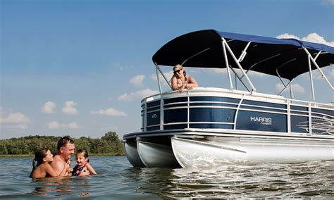 Charter Boat Lake Lanier by Tritoon Rental Lanier Boat Charter Livingsocial