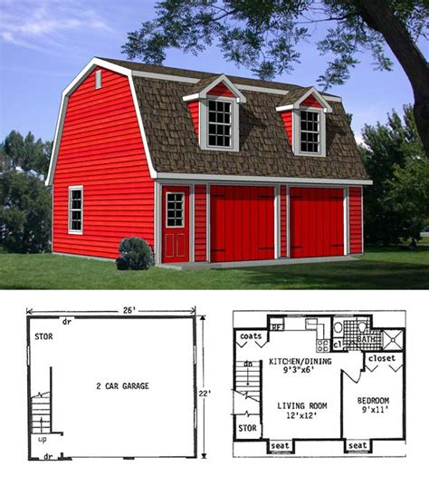 Apartment Barn Plans by 105 Best Gambrel Barn With Apartment Images On