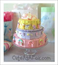 Cute Baby Shower Cake Idea