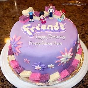 Friendship Birthday Cake For Friends