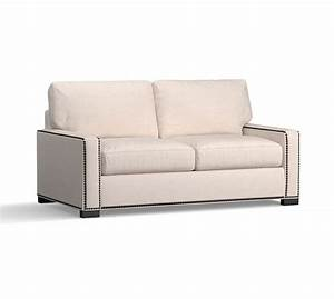 turner square arm upholstered deluxe sleeper sofa w nh With sectional sofas nh