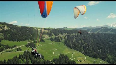 intouchable paragliding scene  intouchables  youtube