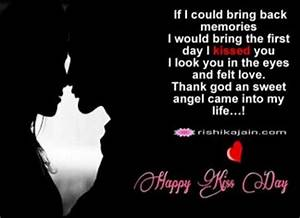 kiss day | Insp... Kiss Day Romantic Quotes