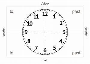 Analogue Clock  Template