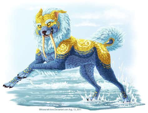 yali hindu myth  feline  sleek body  face
