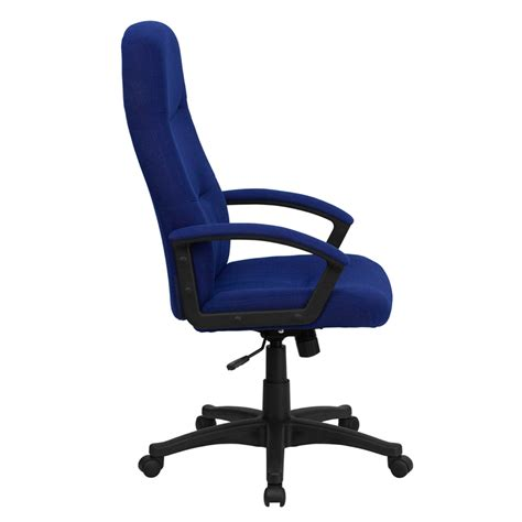 navy blue desk chair high back navy blue fabric executive swivel office chair