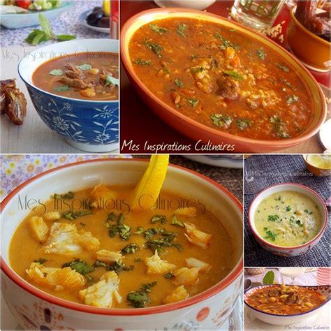 menu cuisine marocaine menu ramadan 2015 les soupes le cuisine de samar