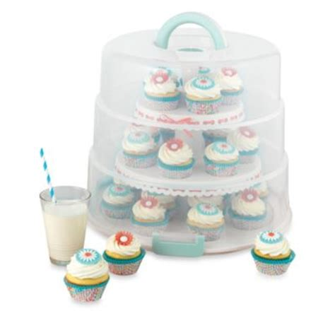 buy cupcake carrier  bed bath