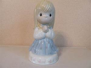 Precious Moments Little Girl Praying Night Light 6.5"