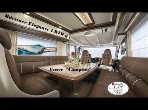 Roomtourinside Unser Bürstner Elegance I 810 G Youtube