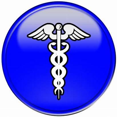 Medical Symbol Caduceus Button Clipart Clip Transparent
