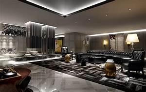 Contemporary Hotel Lobby - Home Design