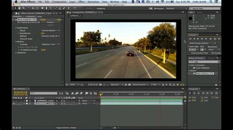 effects tutorial stabilizing shaky video  adobe