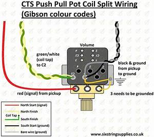 Image Of Cts Push Pull Pot 500k  Long Shaft