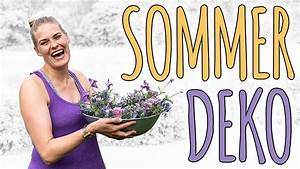 Deko Haustür Sommer : sommer deko im trend 2018 ultra violet diy youtube ~ Orissabook.com Haus und Dekorationen
