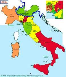 Italy Map 1815