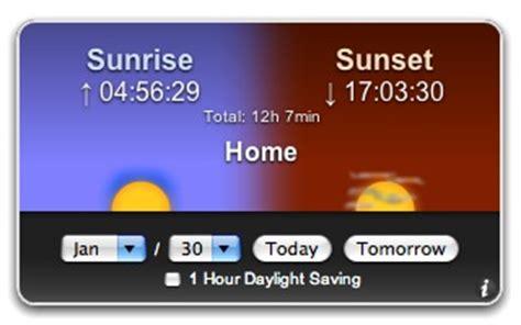apple downloads dashboard widgets sunset
