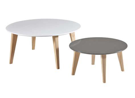 canapé nordique table basse gigogne rondo