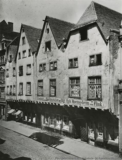Bilderbuch Köln  Alte Häuser Am Mühlenbach