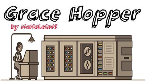 grace hopper computer scientist google doodle youtube